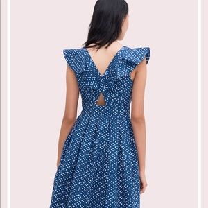 kate spade Dresses - Kate Spade Geo Dot Poplin Dress